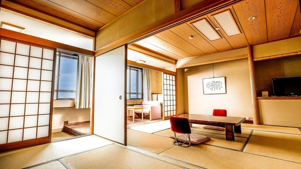 《西館》 和室10+6畳〜お食事処〜禁煙