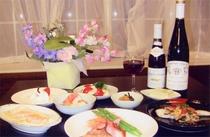 和食中心のメニュー