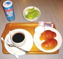 朝食です。元気な1日は朝食から。