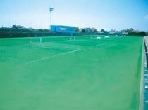 当館所有テニスコート