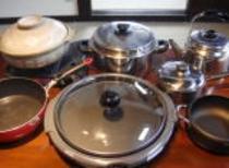調理器具:土鍋など