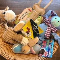 【ペット旅プラン】わんちゃんのおもちゃお好きなものをひとつプレゼント♪
