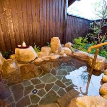 【むらさき】露天風呂は滞在中何度でもご自由にお楽しみください。