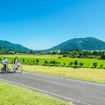【周辺】ひるぜんでのサイクリングは最高ですよ!