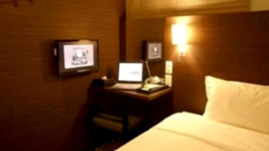 ・【シングルルーム】コンパクトなお部屋になります
