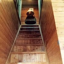 ・・・コテージAタイプ 階段ございます・・・