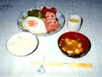 朝食(和風)