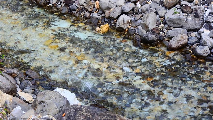 *【青荷川】澄んだ水の流れに心癒される。