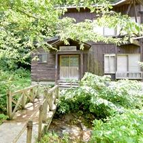*【幻渓楼】山小屋をイメージした造り。
