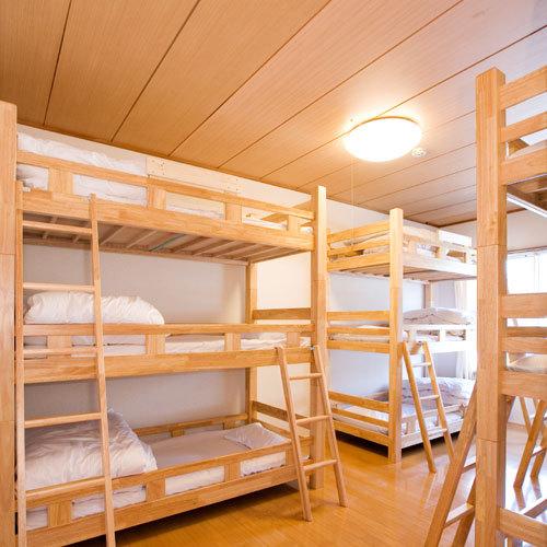 【9ベッド】3段ベッド(2〜9名)