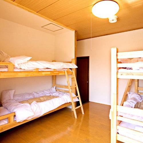 【4ベッド】2段ベッド(1〜4名)