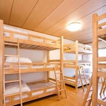 【9ベッド】3段ベッド(2~9名)