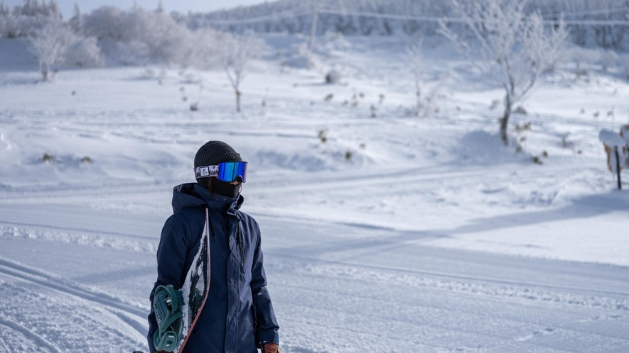 箕輪スキー場隣接