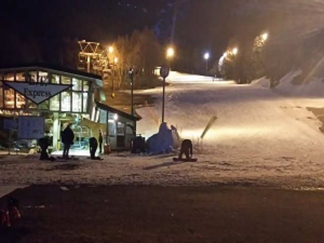 箕輪スキー場ナイター