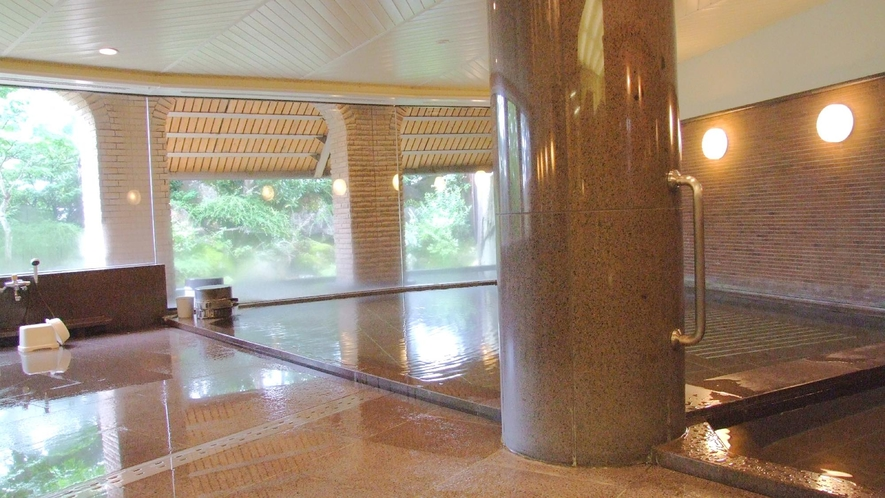 大浴場 箕輪軟水の湯(内湯)