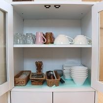 *プライベートハウス/カップ、グラス、お皿、フォーク等食器類もご用意がございます。
