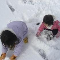 【冬*雪あそび】