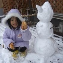 【冬*雪だるま】