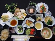 夕食例、おいしい山形!郷土料理プラン【満足コース】(全体)