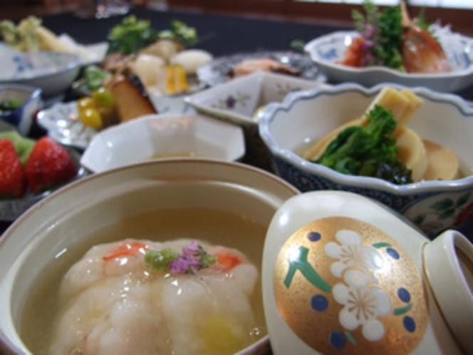 夕食例、おいしい山形!郷土料理プラン【満足コース】(大)