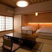 ベッド付客室
