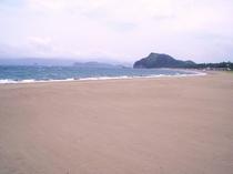ビーチ(北の脇)の風景①