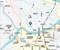 姉妹施設(阿南市横見町)の周辺地図②