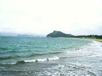 ビーチ(北の脇)の風景②