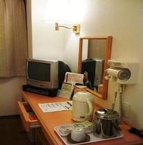 ●客室内デスクに備え付けの備品●
