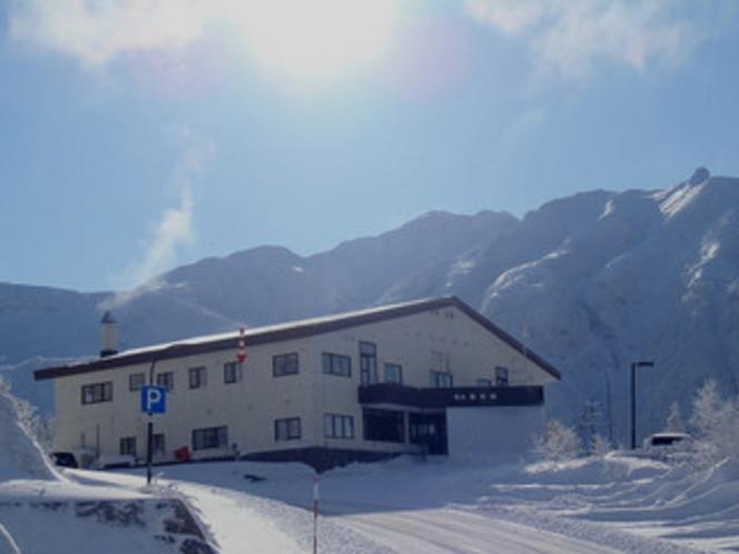 冬の凌雲閣