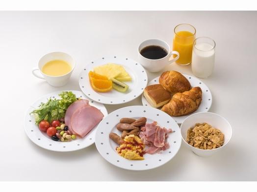 焼きたてのクロワッサン♪自慢の朝食!!和洋バイキング付プラン 駅から徒歩2分! ~WI-FI~