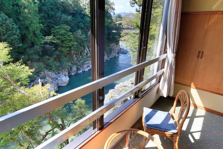 和室12.5畳からの景色