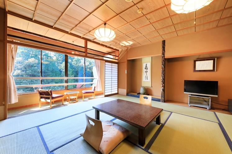 特別室12.5+7.5畳の一例