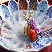 【日帰りプラングレードUP】目の前で調理する豪華昼食と源泉のお風呂入浴付<12:00〜14:30>