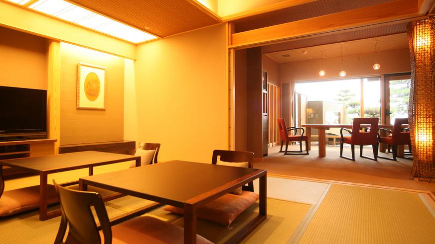 【全室専有露天風呂付】ヴィラ楽園 海の庭 Type C / 103号・和室