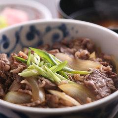 【昼食】日帰りカジュアルプラン(淡路島牛丼+温泉)