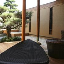 【全室専有露天風呂付】ヴィラ楽園 海の庭 Type C / 103号・テラス