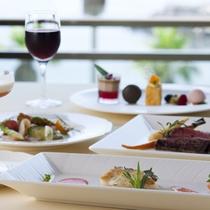 【レストラン シーサイド】新鮮な海の幸を彩り豊かなフレンチで。