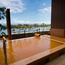 【淡路棚田の湯】 海のミネラルをたっぷり含んだ自家源泉の赤湯「古茂江温泉」