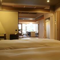 【全室専有露天風呂付】ヴィラ楽園 海の庭 Type D / 105号・ベッドルーム