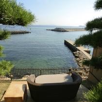 【全室専有露天風呂付】ヴィラ楽園 海の庭 Type E / 106号・テラス海側
