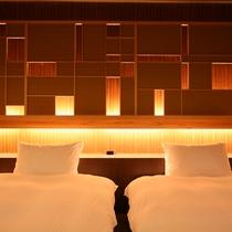 【全室専有露天風呂付】ヴィラ楽園 海の庭 Type E / 106号・ベッドルーム