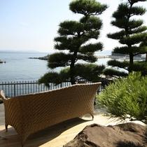 【全室専有露天風呂付】ヴィラ楽園 海の庭 Type D / 105号・テラス海側