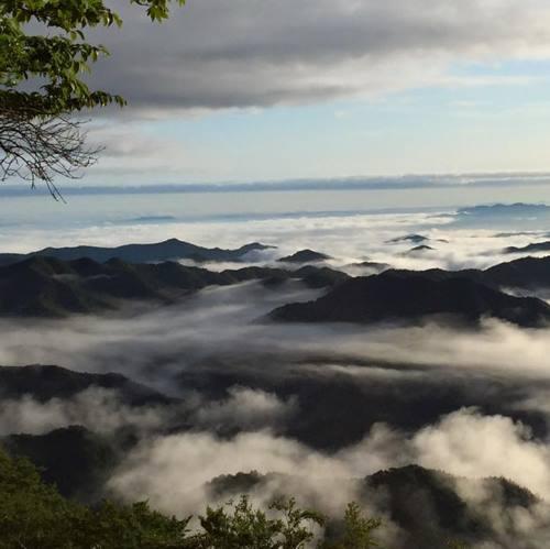 龍神スカイラインからの雲海
