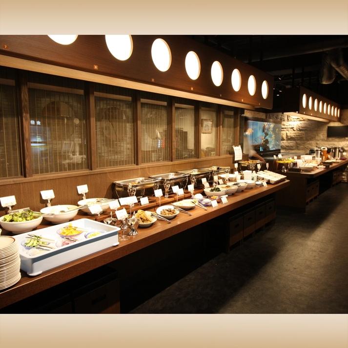 2号館1階『雑魚屋』      店内朝食イメージ