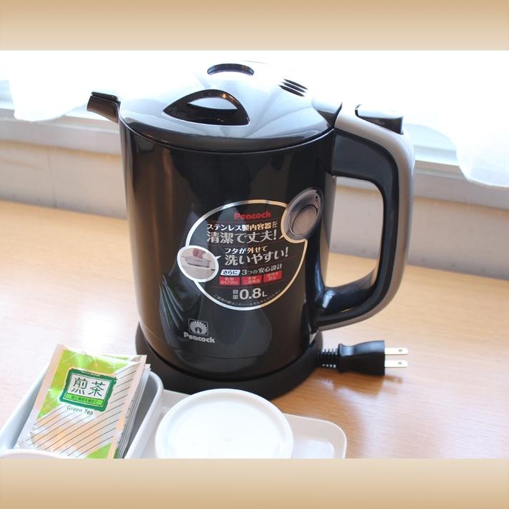 お茶で一息つかれませんか?