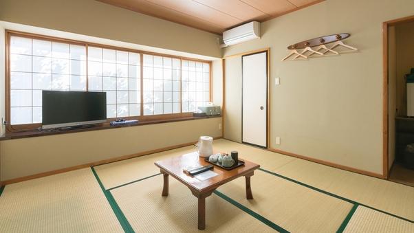 1〜2名用和室【トイレ付】一番スタンダードな和室です。