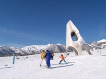 白馬アルペンリゾート栂池高原スキー場「鐘の鳴る丘ゲレンデ」(3:2)