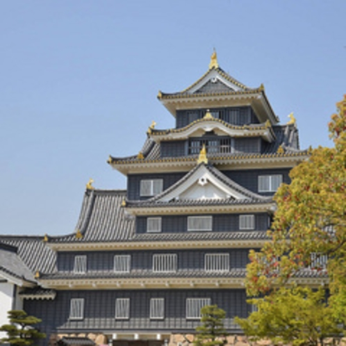 岡山城(◆)