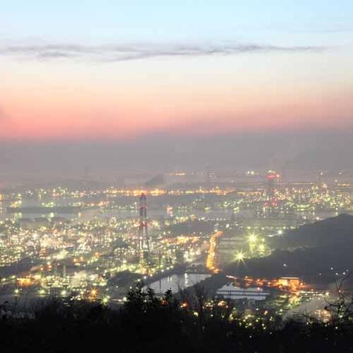 夜景 コンビナート(◆)